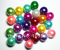 necklace chunky bead - mixed color mm acrylic chunky beads pearl for DIY chunky beads children necklace