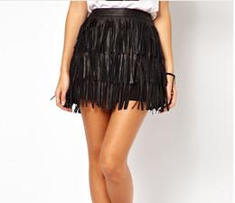 Discount Leather Tassel Skirt | 2017 Leather Tassel Skirt on Sale ...