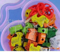 beaded things - Children s educational toys wooden toys beaded know things know color knowledge map puzzle early education enlightenment