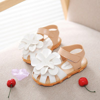 artificial muscles - size to Flower Child Girl Sandals pu artificial leather Girl Shoes