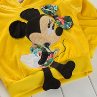 baby sweat suits - NEW autumn Brand girls clothing set children sets baby girls suit summer fashion clothes sweat suit