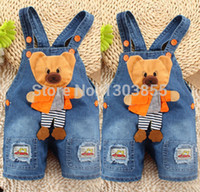 baby boys dungarees - Baby Boy Newborn Denim Jeans One piece Rompers Playsuits Dungarees Overall Pants SZ Y
