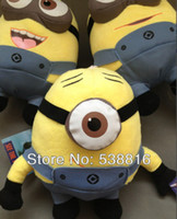 3d movies for sale - Hot sale Despicable Me Movie Plush Toy D Minions Stuffed Animals dolls cm High quality Toys for kids