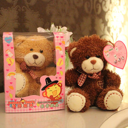 Wholesale Recording amp Speaking plush toys cm talking teddy bears stuffed toy high quality soft