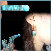 gun safe - New arrive Pair Healthy Safety Asepsis Disposable Unit Ear Studs Piercing Gun Safe Body Piercer Tool
