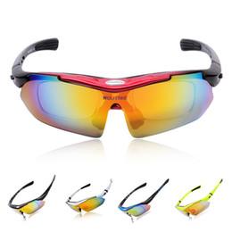 NEW 2015 Fashion Brand WOLFBIKE Men Women Eyewear UV400 Coating Polarized Sunglasses Oculos De Sol Riding Fishing Glasses 5 Lens