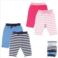 baby designer clothes lots - 2pcs Baby Clothing Elastic Waist Cartoon Baby Toddler Cotton Pants Busha Warm Unisex Baby Tights Kids Designer Leggings