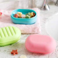 bath soap dish - Color Soap Dish Box Cover Case Container Bath Home Travel Outdoor Hiking Camping cm buy get free