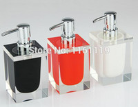 acrylic tumblers - Set for Bathroom Holder Bathroom Accessories Banheiro Accessory European Acrylic Soap Dispenser Tumbler Set