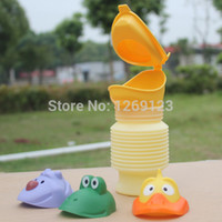 Wholesale Portable Kid Children Urinal Car Travel Toilet Potty Training Pee Camping ML rP2