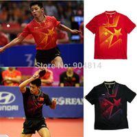 li ning - 2015 new Li Ning Man s shirt Incheon Asian Games T Shirt Chinese national flag Table Tennis Shirt cotton men s t shirt