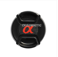 alpha center - 20PCS49 mm Center Pinch Snap on Front Lens Cap hood Cover forS DSLR SLR Alpha with Strap