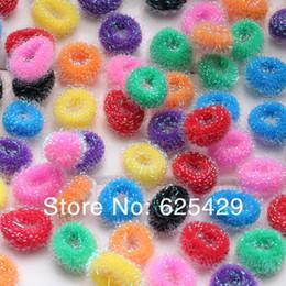 2017 accessoires de cheveux pour les bébés filles 50pcs / lot mignon bandes enfant Enfants Cheveux de Elastic Baby Girl Kid Cravates Accessoires pour les filles des femmes bande, la couleur de cheveux corde accessoires de cheveux pour les bébés filles à vendre