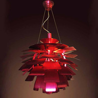 artichoke fixture - Lighting Fixture Louis Poulsen PH Artichoke Pendant Lamp White Denmark Modern Suspension Pendant Lights Repllica