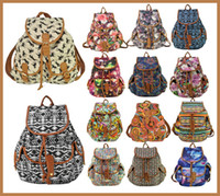 abs backpack sale - Hot Sale Casual Horse Flower Geometric Animal Print Canvas Backpack Women Bag Lady Female Outdoor Rucksack Shoulder Bags
