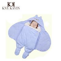 autumn quilt fabric - New Winter Autumn Baby Receiving Blankets Warm Bedding Set Baby Wrap Newborn Cotton Quilt Polar Fleece Fabric Pink HK296