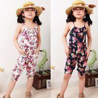 beautiful jumpsuits - 2 Y Beautiful Girls Children One piece Romper Summer Playsuit Soft Onesie Jumpsuit Bodysuit Dress