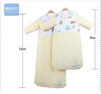 baby winter bunting - newborn sleeping bag blanket infant autumn winter thermal yellow baby anti tipi winter baby sleeping sack bunting swaddling warm