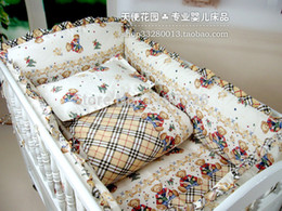 Wholesale Hot Selling cotton Baby Bumpers cribs for babies Bumper kids bedding bumper Child Bedding Sets Newborns Crib Sets