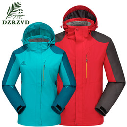 Best Price Women Men Hoodies Jacket Waterproof Windbreaker Zippers Coats Outerwear Unisex Hiking Camping Sportswear M-4XL15022