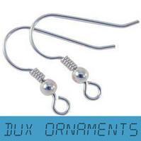 silver 925 - 1000PCS USD MM Earring Findings Sterling Silver earring hooks Nickel Free Beads Jewelry Findings earrings Wire
