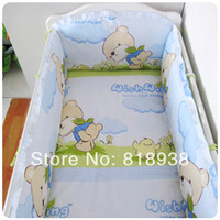 baby customer beds - HOT HOT SALE Kids Baby Crib Bedding Set with Bumper Make Each Customer Feel Satisfied Good Cotton Baby Crib Bedding