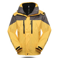Wholesale 2015 Men Jackets Outdoor Sports Climbing Removable Fleece Liner Piece Helly Hansen Ski Jacket Hiking Softshell Polartec
