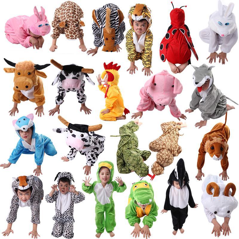 24 Styles! 2015 Animal Halloween Costumes For Kids,Children\'s ...