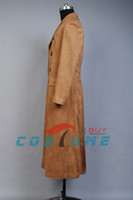 anime trench coat - Who is Doctor Dr Brown Long Trench Coat Suit Cosplay Costume For Men Custom Made