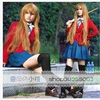 aisaka taiga cosplay - japan anime TIGER DRAGON Toradora Aisaka Taiga cosplay costume uniform roupas for girls women high quality
