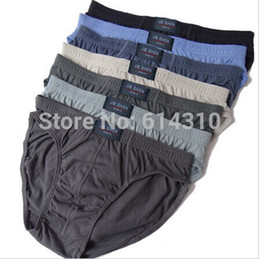 Wholesale Cotton Mens Briefs Men Underwear Panties M L XL XXL XXXL XL XL Men s Breathable Panties