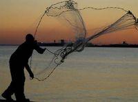 american salt - AS The American Cast Net for Bait Fish Mesh Size cm Radius M Salt Cast Net for Bait Fish with handline