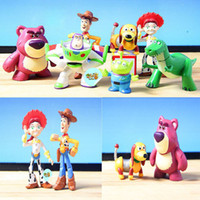 best dinosaur - New Children PC Toy Story Action Toy Figures Classic Toys Cartton Woody Jessie Figures Dinosaur Best Gift Boys Girls