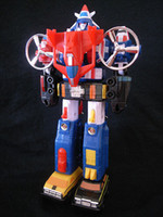 action figures vintage - Japan Vintage Voltron Dairugger Vehicle Voltron XV quot Robot Action Figure