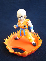 bandai dragonball z - Original Japan Bandai Dragonball Z HG Part Krillin Klilyn Collection Gashapon Collection Figure