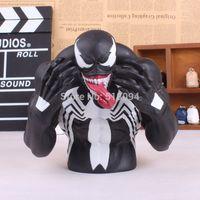 batman money bank - Spider man Venom PVC Figure Collectible Toy Piggy Bank Save Money Box MVFG233
