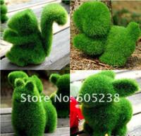 alpaca dogs - Grassland Artificial Grass Deco Creative Handicraft Rabbit Squirrel Alpaca Dog