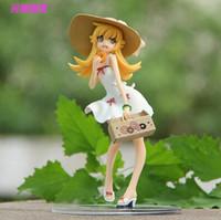 bakemonogatari figures - Anime Monogatari Bakemonogatari Oshino Shinobu Painted PVC Action Figure Collection Model Toy cm Retail