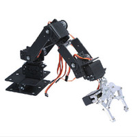 arm platform - Free Degree Mechanical Arm Mechanical Hand Robot Teaching Platform Multiangle Mechanical Robotic Arm without Steering Gear
