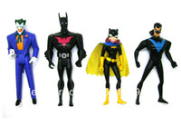 Wholesale DC JLU Justice League Unlimited Batman Beyond Batgirl The Joker Night Wing quot Loose Action Figure Set Figurine Toy Doll