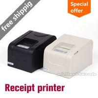 thermal printer - High speed New mm thermal receipt printer mini ticket pos USB black white USB