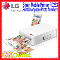 Wholesale Brand New LG Smart Mobile Printer PD233 Print Photo via Bluetooth Connect with Smart Phone amp iPhone w Year Warranty Free Gift