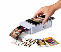 Wholesale Pocket with printer Polaroid mobile cell phone photo printer mobile portable printers Silver