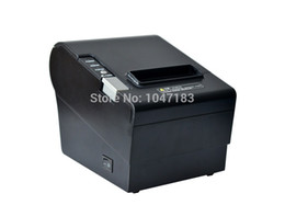 Wholesale 80 mm thermal receipt printer with auto cutter for pos system with USB port