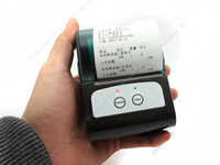apple wireless printer - Portable Mini Bluetooth Wireless Line Thermal Printer For Apple iOS Android