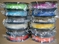 Cheap ABS Filament 3.0 mm 1 KG for all 3D Pen 3D Printer 26 colors of ABS Material Free Shipping