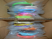 Cheap ABS Filament 1.75mm 20 different colors 5 meters each color all 3D Pen 3D Printer, SGS Approval Material Free Shipping