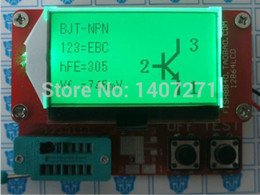 Discount mos field 2015 Lcd M328 ESR Meter Transistor Tester Capacitance Diode Triode MOS LCR NPN free shipping