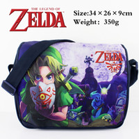 Wholesale Hot Anime Zelda Style Fashion Crossbody Bag School Bag Messenger Bag Different Kind to Choose