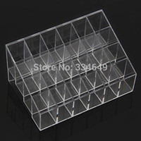 Wholesale Cosmetic Organizer Makeup Case Clear Acrylic Lipstick Holder Display Stand Best Selling